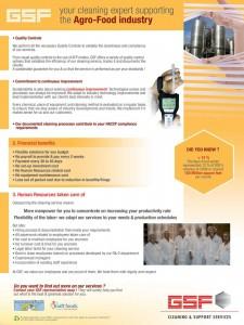 Brochure GSF USA Agro Food verso