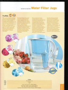 Catalogue Terraillon Export 2006 - water filtration