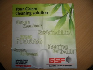 GSF USA Microfiber cloth 2009