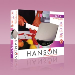 Packaging Hanson kitchen scale