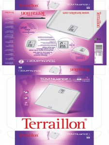 Packaging Terraillon Bathroom Scale