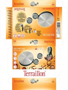 Packaging Terraillon kitchen scale