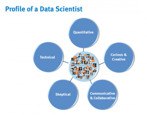Profile of a data scientist