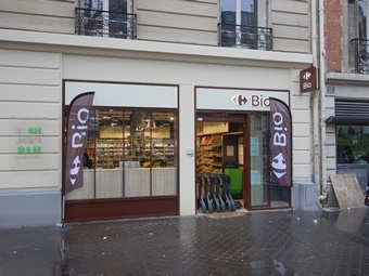 Magasin Carrefour Bio